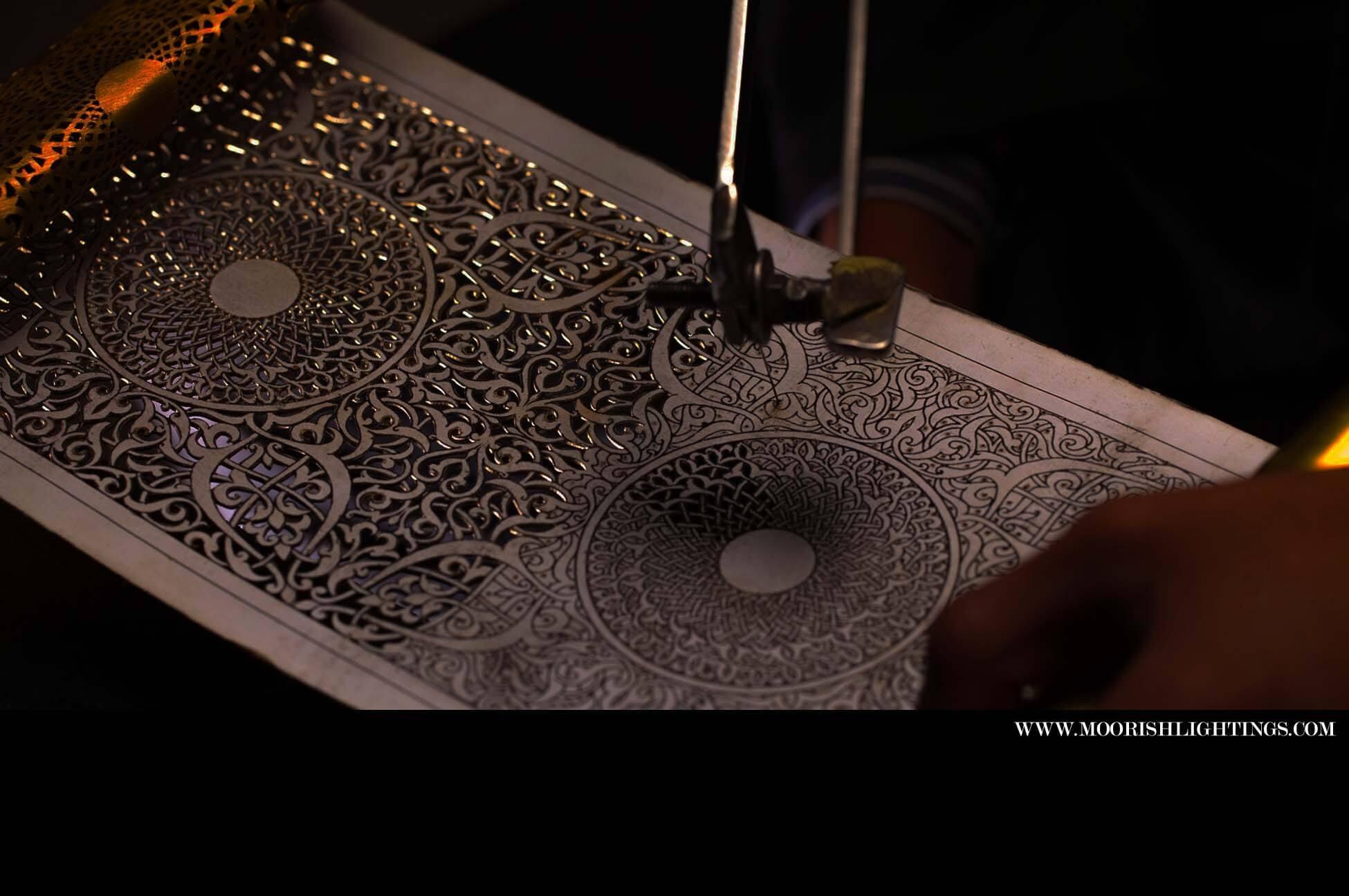 Moroccan Filigree Design